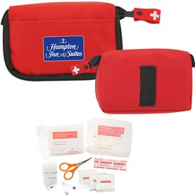 "First Aid Travel Kit (5"" x 3"")"