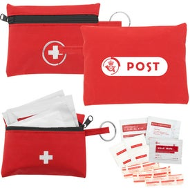First Aid Travel Kit Printed with Your Logo