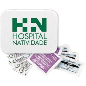 First Aid Kit In Metal Tin