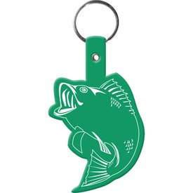 Fish Key Tag Imprinted with Your Logo