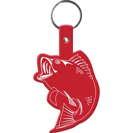 Fish Key Tag Printed with Your Logo