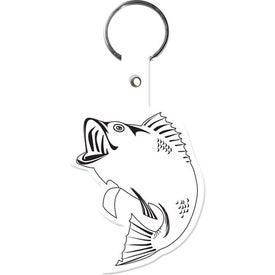 Logo Fish Key Tag