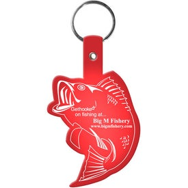 Advertising Fish Key Tag