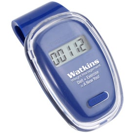 Advertising Fitness First Pedometer