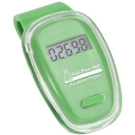 Fitness First Pedometer Branded with Your Logo