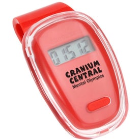 Branded Fitness First Pedometer