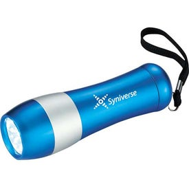 Flash Forward 9 LED Flashlight with Your Slogan