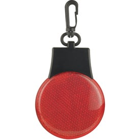 Flashing Reflector Light Imprinted with Your Logo