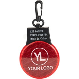 Flashing Reflector Light with Your Logo