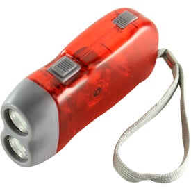 Emergency Flashlight Printed with Your Logo