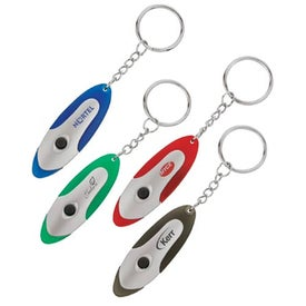 Promotional Flashlight Keychain
