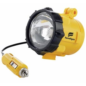Flashlight Magnetic Car Yellow