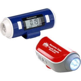 Flashlight and Siren Pedometers
