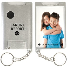 Custom Flashlight Snap-In Photo Keytag