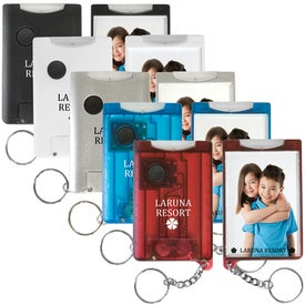 Flashlight Snap-In Photo Keytags