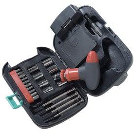 Imprinted Flashlight/Tool Box