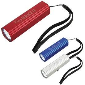 Custom Flat Edge Flashlight