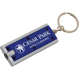 Flat Key Tag Light Printed with Your Logo