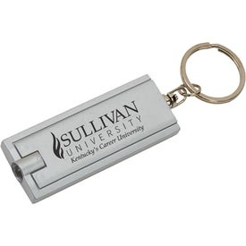 Flat Key Tag Light Branded with Your Logo