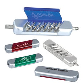 Flat Mini Tool Kit Imprinted with Your Logo