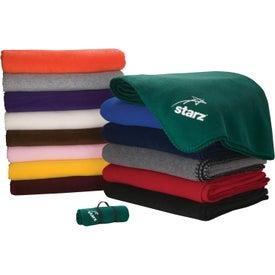 Fleece Blanket Branded with Your Logo