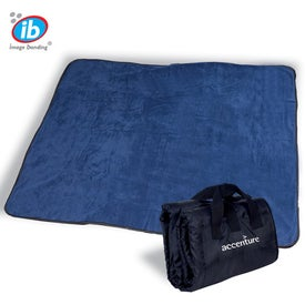 Promotional Fleece Nylon Picnic Blanket