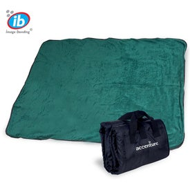 Personalized Fleece Nylon Picnic Blanket