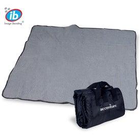 Fleece Nylon Picnic Blanket Printed with Your Logo