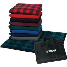 Advertising Fleece Picnic Blanket