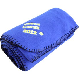 Fleece Stadium Blanket for Your Company