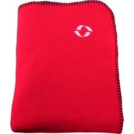 Fleece Stadium Blanket Branded with Your Logo