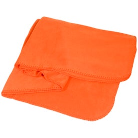 Fleece Throw Blanket for Promotion
