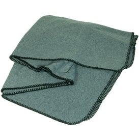 Fleece Throw Blanket for your School