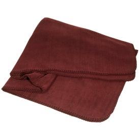 Promotional Fleece Throw Blanket