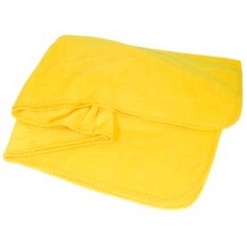 Advertising Fleece Throw Blanket