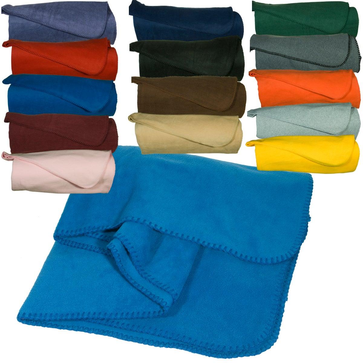 how to make a fleece throw blanket
