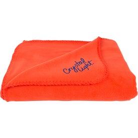 Fleece Throw Blankets with Your Logo