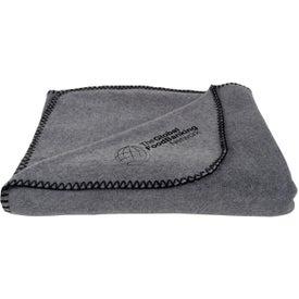 Logo Fleece Throw Blankets