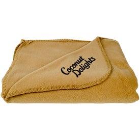 Fleece Throw Blankets for Marketing
