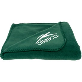 Fleece Throw Blankets Branded with Your Logo