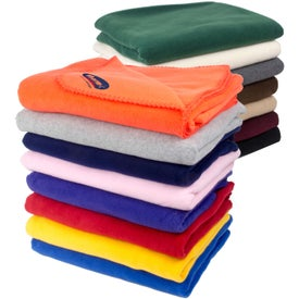 Branded Fleece Throw Blankets