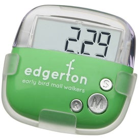 Flip Clip Pedometer with Your Logo