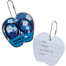 Flip Flop Luggage Key Tag