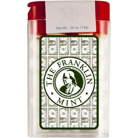 Branded Flip Top Plastic Mints