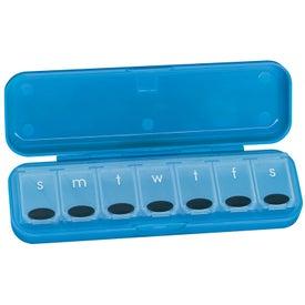 Custom Flip Top 7-Day Pill Box