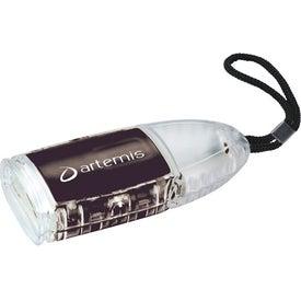 The Flipster Flashlight for Advertising