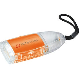 The Flipster Flashlight Branded with Your Logo