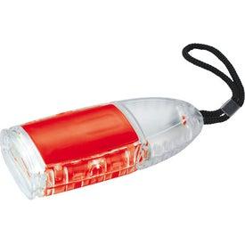 Advertising The Flipster Flashlight