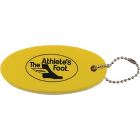 Sure Float Keychain for Advertising
