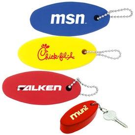 Plastic Floating Keychain